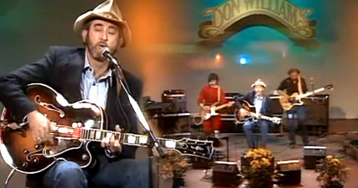 """Don Williams Rocks The Airwaves With His Track """"Tulsa Time"""""""