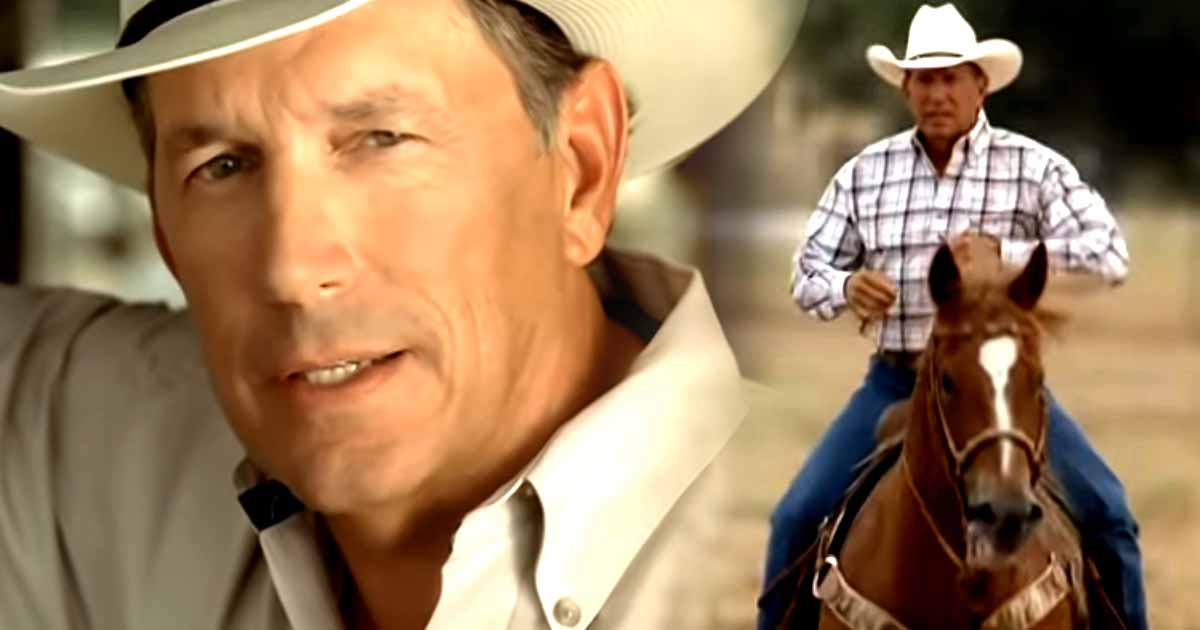 George Strait Receives an Award for His Service to the Men and Women in Unifrom 1