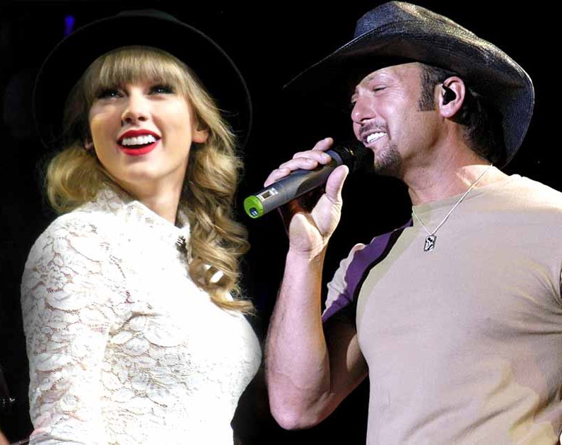 "Taylor Swift's Sings about Country Superstar ""Tim McGraw"" 1"