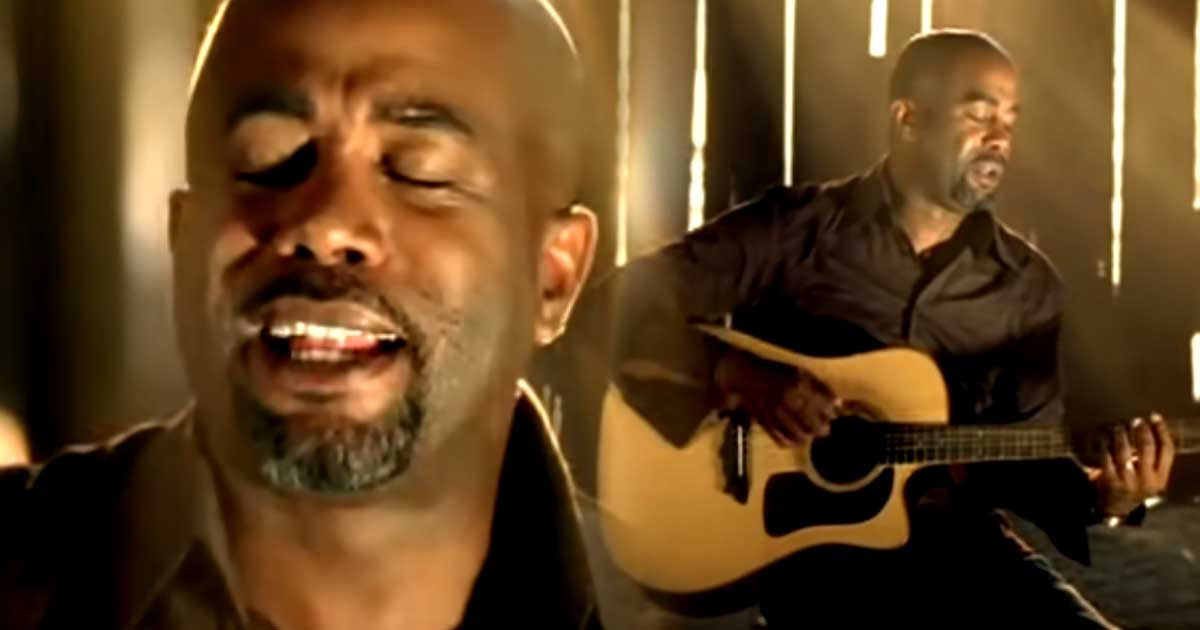 "Darius Rucker And His Awesome Song ""If I Told You"" 1"