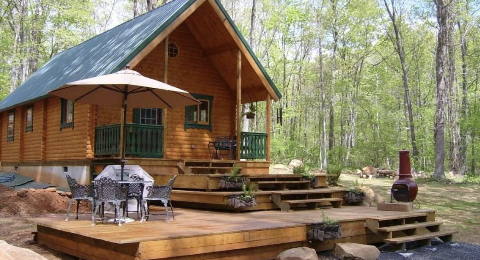 Conestoga Vacationer Log Cabins