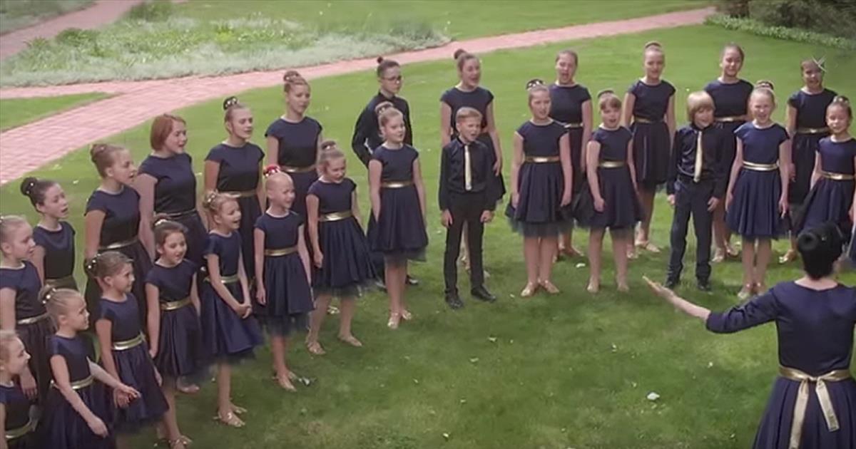 Children Choir, You Raise Me Up