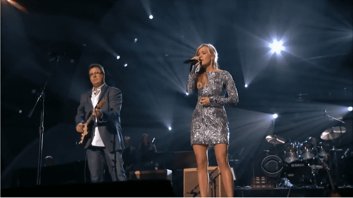 carrie underwood, vince gill