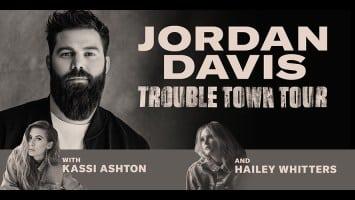 """Jordan Davis Announces Exciting 2020 """"Trouble Town Tour"""" 1"""
