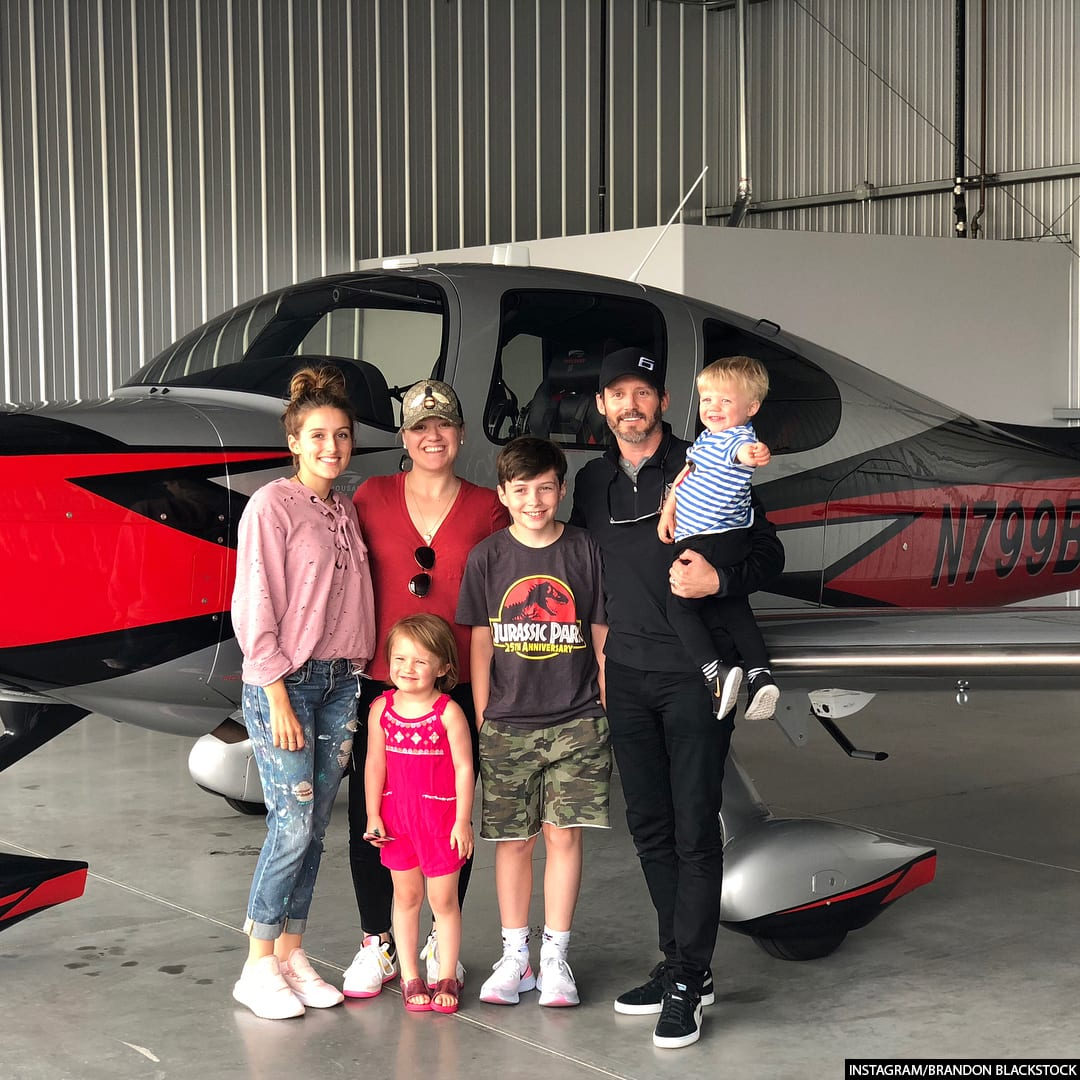Brandon Blackstock and Kelly Clarkson Kids