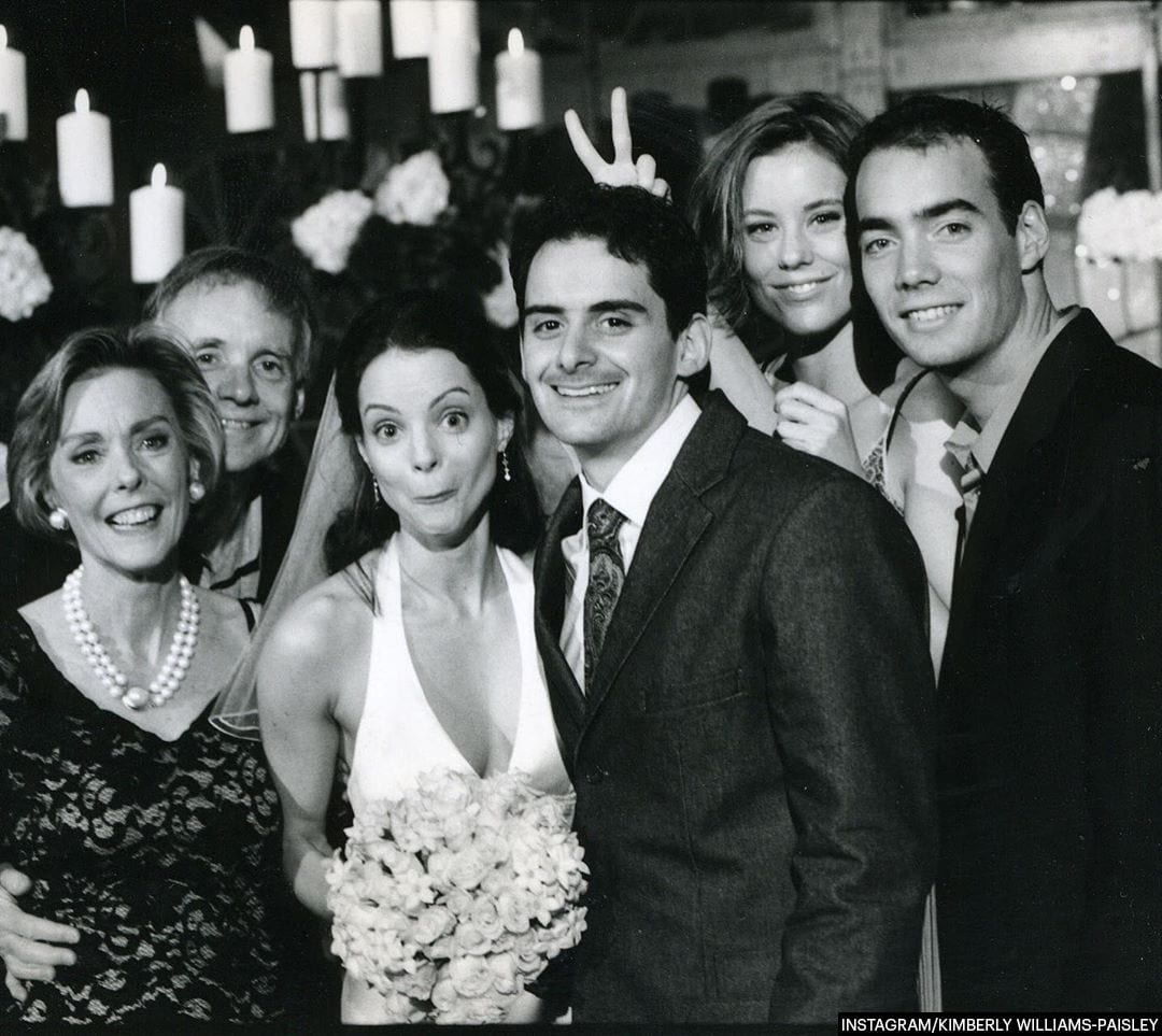 Kimberly Williams-Paisley and Brad's Wedding Photo