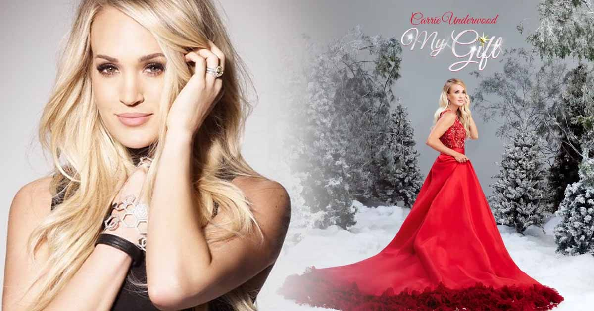 """Here Comes """"The Gift,"""" Carrie Underwood's First Christmas Album"""