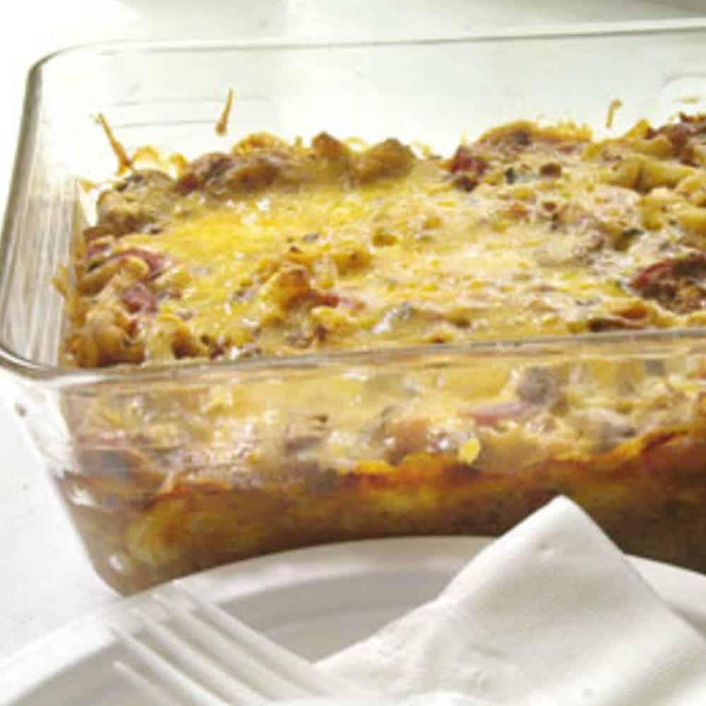 Cheeseburger Macaroni Casserole Recipe