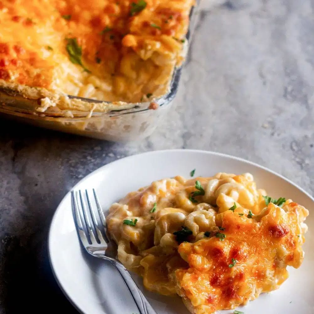Southern Baked Mac and Cheese by Eden Recipe