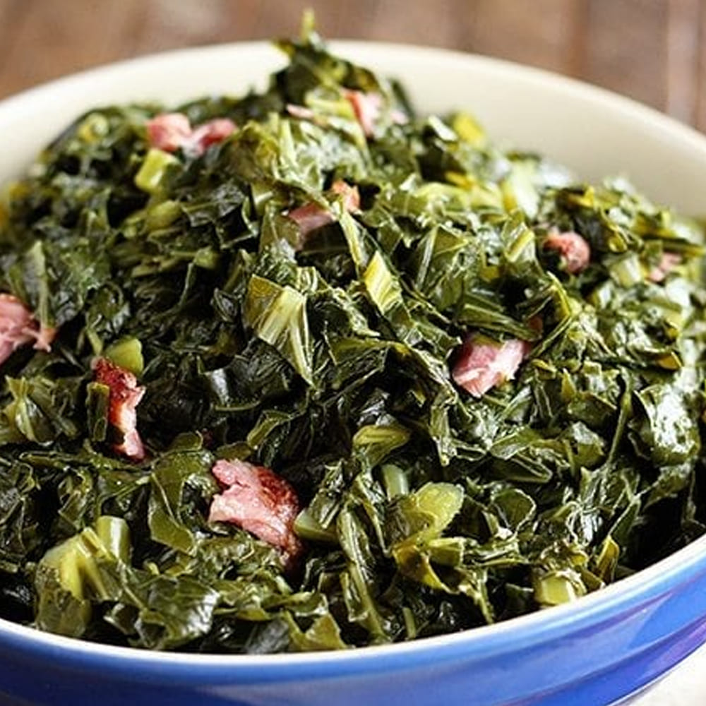 Southern Collard Greens by Stacey Recipe