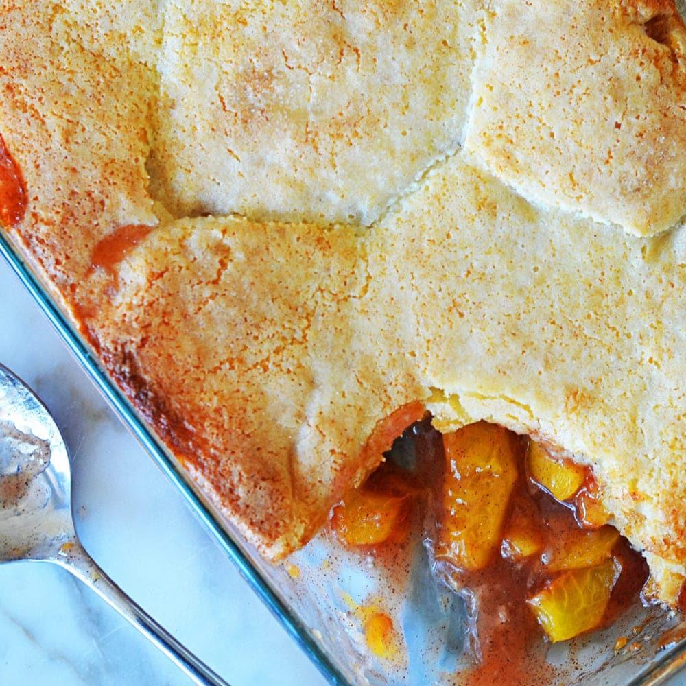 Southern Peach Cobbler by Jenn Segal Recipe