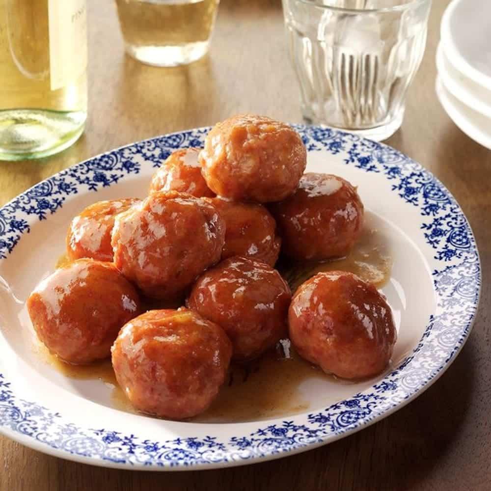 Apricot Ham Balls Southern Recipe